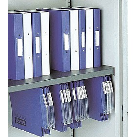 Silverline Kontrax & Executive Cupboards Shelf With Suspended Filing £26 - Office Cupboards