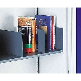 Silverline Kontrax & Executive Cupboards Slotted Shelf Dividers (Pk 5) £26 - Office Cupboards