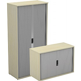 Accolade Side Opening Tambour Cupboards £371 - Office Desks
