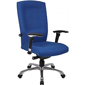 fabric high back task chair 24 hour office chairs less than 200