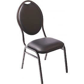 Onyx Black Banquet Chair £63 - Office Chairs