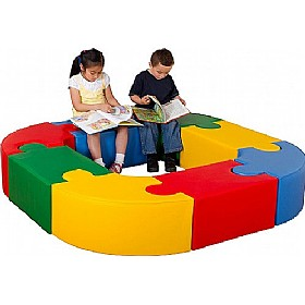 Jigsaw Soft Seating Unit £449 - Education Furniture