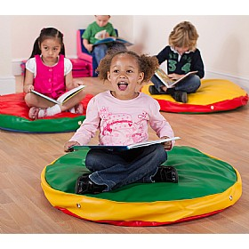 Sagbag Giant Round Floor Cushions (Pack Of 3) £0 - Education Furniture
