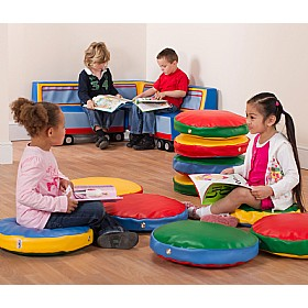 Round Story Cushions (Pack Of 10) £0 - Education Furniture