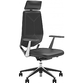 Next_U Executive Leather Faced Chair £322 - Office Chairs