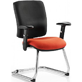 Vital Colour Cantilever Chair £161 - Office Chairs