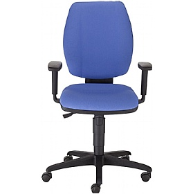 Next Day Roxy Fabric Operator Chair £157 - Office Chairs
