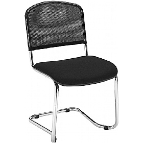 ISO Net Cantilever Visitor Chair £47 - Office Chairs
