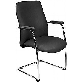 Indiana Leather Visitor Chairs £198 - Office Chairs