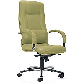 Star Leather Faced Manager Chair £317 - Office Chairs