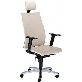 Intrata Manager Chair With Headrest £262 - Office Chairs