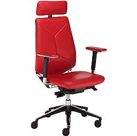 Next_U Executive Leather Chair With Headrest £395 - Office Chairs
