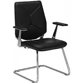 Next_U Executive Leather Visitor Chair £320 - Office Chairs