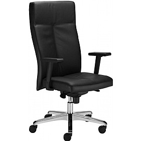 Paladium Executive Leather Faced Chair £248 - Office Chairs