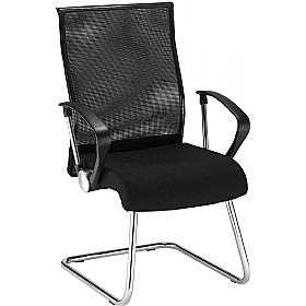 Neo Lux Executive Mesh Visitor Chair £150 - Office Chairs