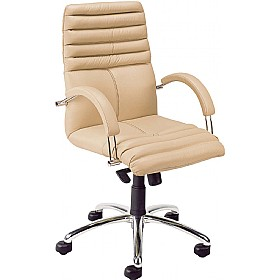 Galaxy Executive Leather Chair £329 - Office Chairs