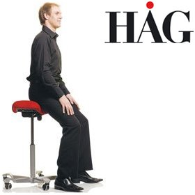 HAG Capisco 8105 Chair £277 - Office Chairs