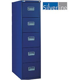Silverline 5 Drawer Filing Cabinet £0 - Filing Cabinets