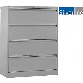 Silverline M:Line Side Filing Cabinets £0 - Filing Cabinets