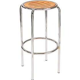 Ringo Hocker Cafe Bar Stool £65 - Bistro Furniture