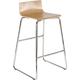 Cafe VII Hocker Bar Stools £99 - Bistro Furniture