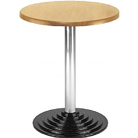 NEXT DAY Florida Cafe Table Round Base £136 - Bistro Furniture