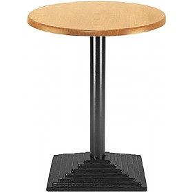 NEXT DAY Florida Cafe Table Square Base £136 - Bistro Furniture