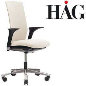 HAG Futu Chair 1020F FutuKnit Off White £493 - Office Chairs