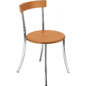 Anca Wood Cafe Chair £60 - Bistro Furniture