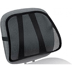 Fellowes Mesh Back Support Black £69 - Office Chairs