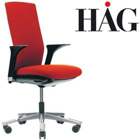 HAG Futu Chair 1020F FutuKnit Red £534 - Office Chairs
