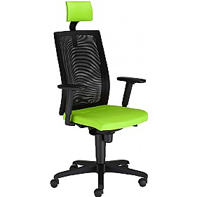 SIT.NET Executive Mesh Back Operator Chair With Headrest £299 - Office Chairs