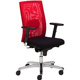 SIT.NET Plus Executive Mesh Back Operator Chair £312 - Office Chairs