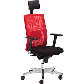 SIT.NET Plus Executive Mesh Back Operator Chair With Headrest £341 - Office Chairs