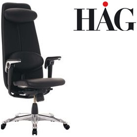 HAG H09 Classic Chair 9130 Leather £1586 - Office Chairs