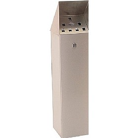 Hooded Top Floor Standing Cigarette Bin £213 - Premises Management
