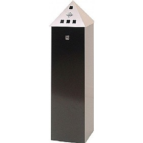 Pyramid Top Floor Standing Cigarette Bin £207 - Premises Management