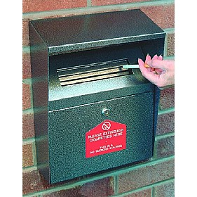 Wall Mounted Cigarette Disposal £73 - Premises Management