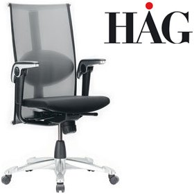 HAG H09 Inspiration Chair 9220 Black £1035 - Office Chairs