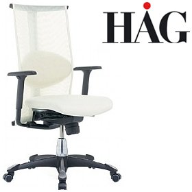 HAG H09 Inspiration Chair 9220 Cream £1035 - Office Chairs