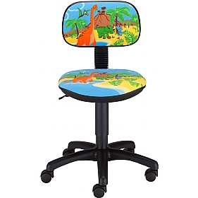 Cartoon Line Childrens Dinosaur Operator Chair £0 - Education Furniture