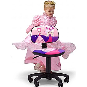Cartoon Line Childrens Princess Operator Chair £0 - Education Furniture
