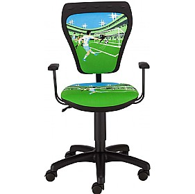 Cartoon Line Childrens Ministyle Football Operator Chair £0 - Education Furniture
