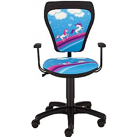 Cartoon Line Childrens Ministyle Pony Operator Chair £0 - Education Furniture