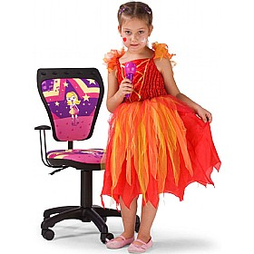 Cartoon Line Childrens Ministyle Superstar Operator Chair £0 - Education Furniture