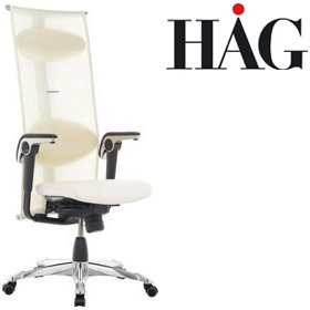HAG H09 Inspiration Chair 9230 Cream £1183 - Office Chairs