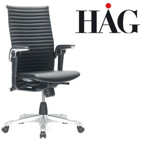 HAG H09 Excellence Chair 9320 Leather £1658 - Office Chairs