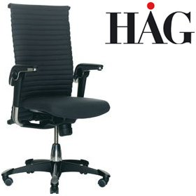 HAG H09 Excellence Chair 9320 Dark Grey £1211 - Office Chairs