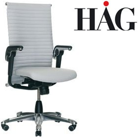 HAG H09 Excellence Chair 9320 Light Grey £1314 - Office Chairs