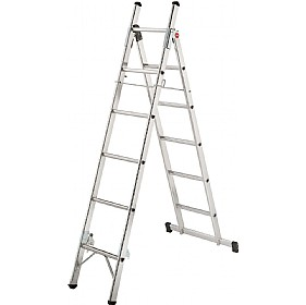 Hailo L80 Aluminium 3 Way Ladder £122 - Premises Management